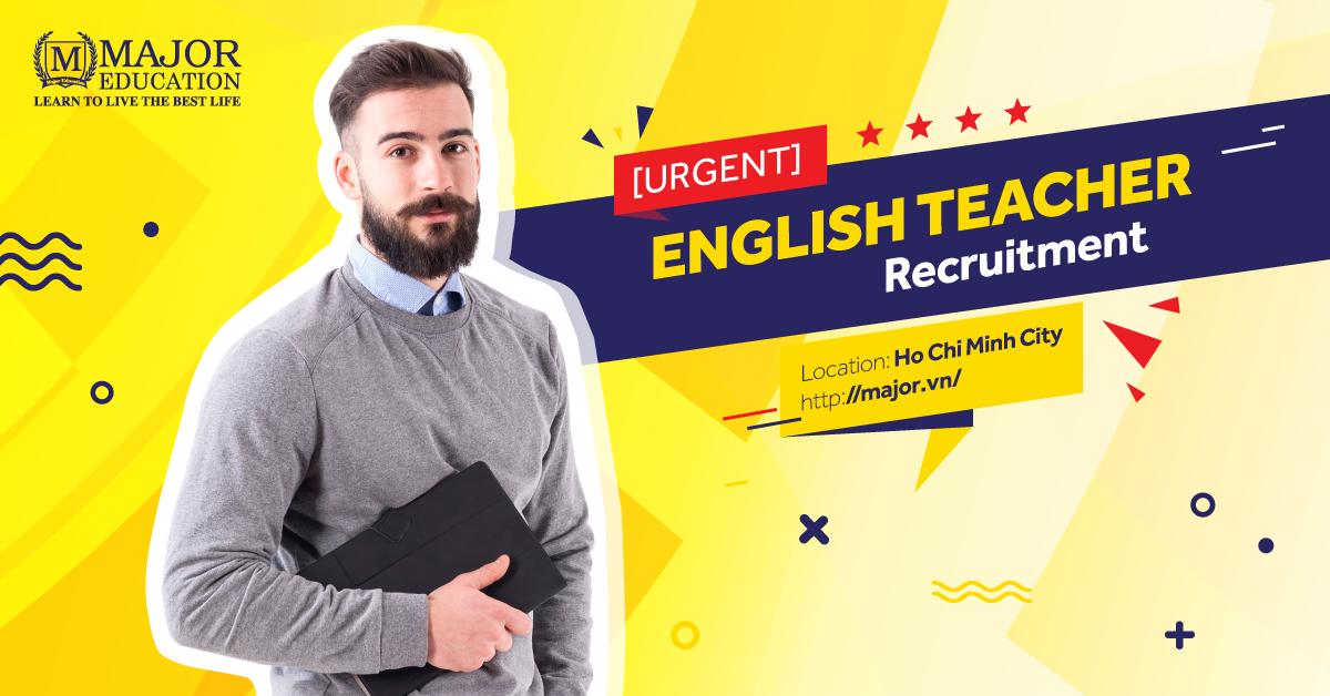 English Teacher Recruitment